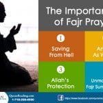 Significance of the Fajr Prayer