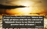 Dajjal greatest fitnah