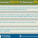 Quran and Becoming Momin