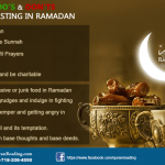 what to do and what to avoid in Ramazan