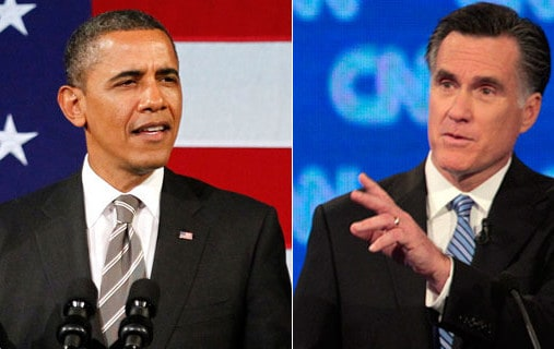 US Presidential Elections 2012 - Obama Vs Romney