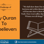 Holy Quran to disbelievers