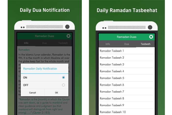 Ramadan duas app for muslim