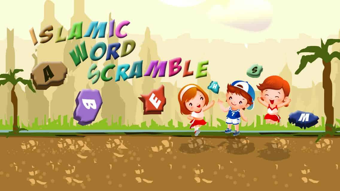 Word Scramble smartphone app