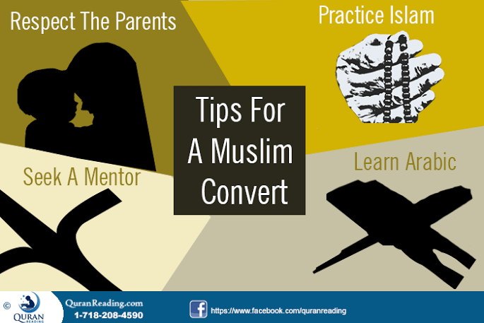 Tips for New Muslim Converts to Become Practicing Muslim