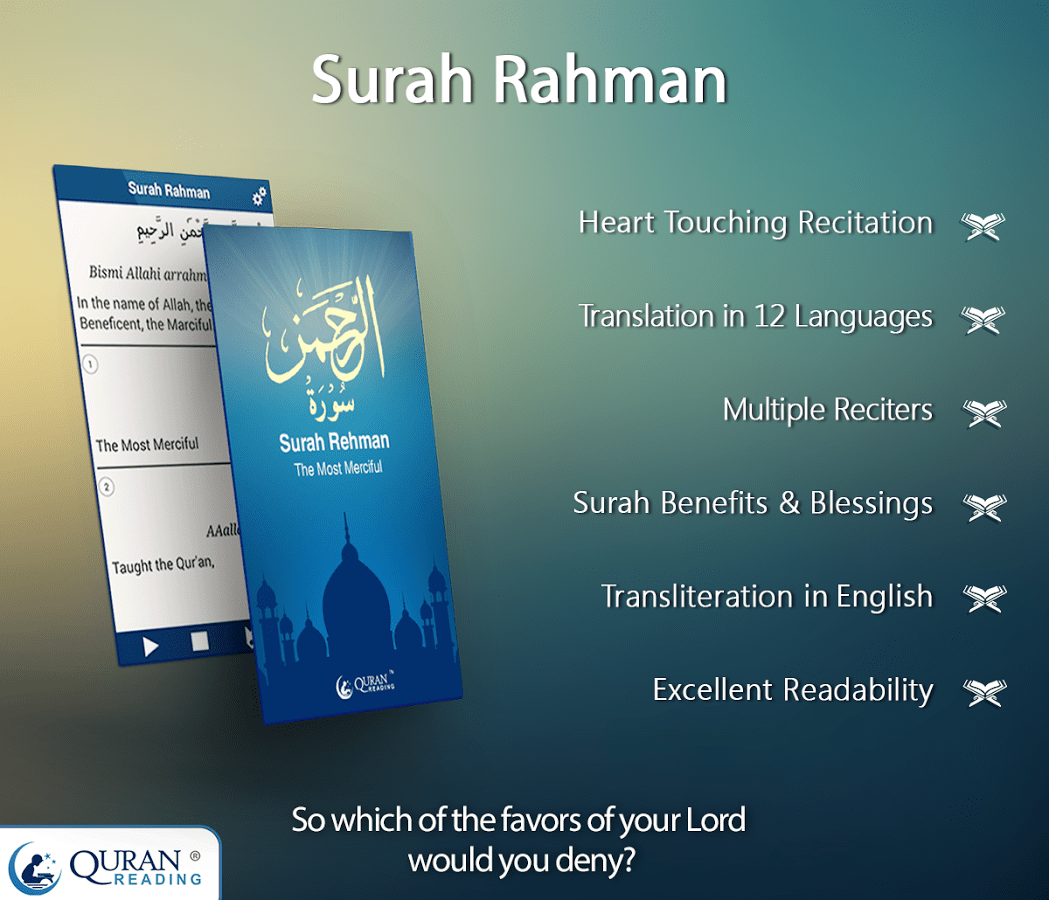 surah rahman with translation