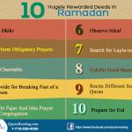Hugely Rewarded Deeds to do in Ramadan