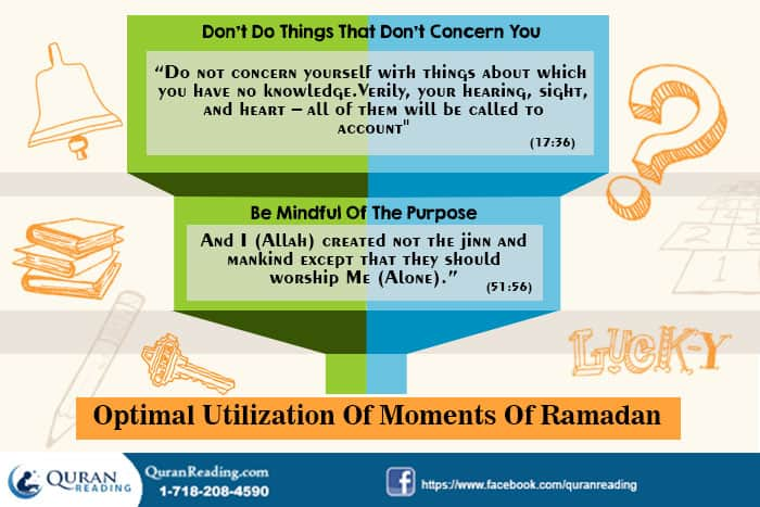 Managing Time in Ramadan