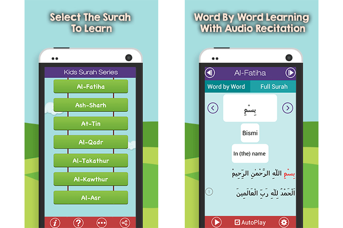 Kids Surah Series – Learn Short Surahs of Quran Word by Word