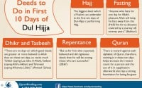 Tips and Deeds for 10 Days of Dhul Hijja