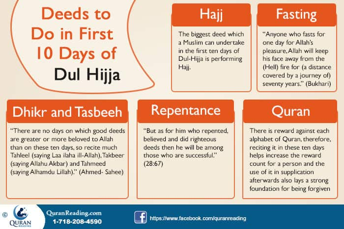 Dhul Hijja 2019 Calendrier.Deeds To Do In First 10 Days Of Dhul Hijja