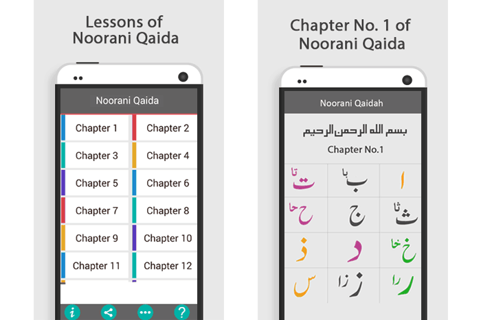 Noorani Qaida – Smart App for Learning To Read The Quran