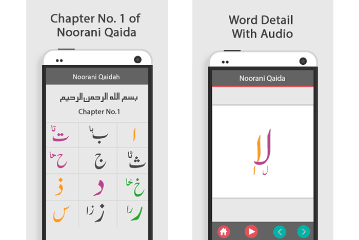 Noorani Qaida with English Lessons and Audio