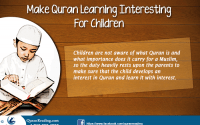 Making quran learning intresting