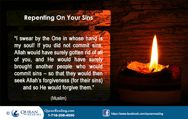 Sins and how to repent