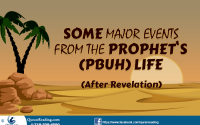 Prophet life events