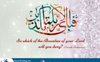 Allah swt and bounties