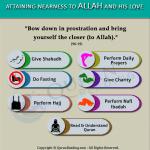 Attaining Allah love