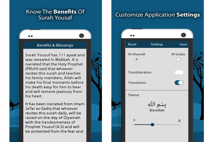 benefits of surah yousaf