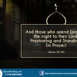 Highly rewarding tahajjud prayer