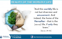 islamic teachings and worldly life