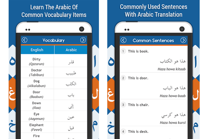 Learn the Arabic