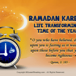 Transforming period-Ramadan kareem