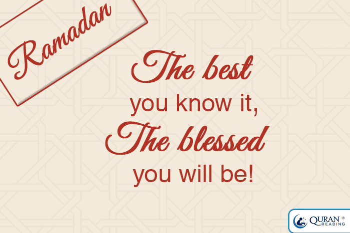 ramadan the best you know