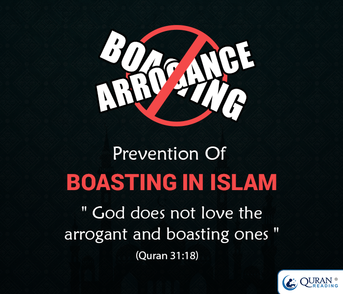 Prevention of Boasting (Showing Off) in Islam