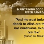 good habits after ramadan
