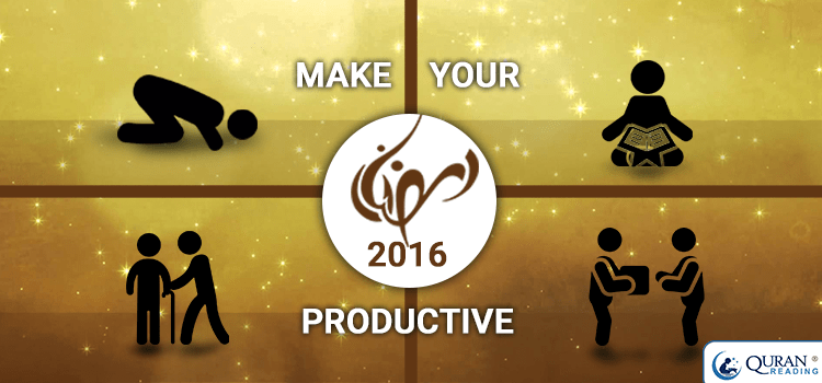 productive Ramadan 2016
