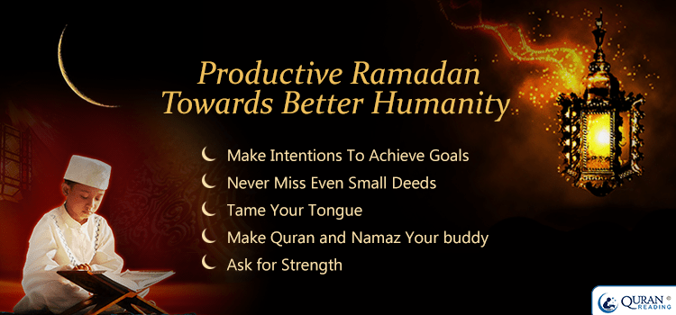 Productive tips for ramadan 2016