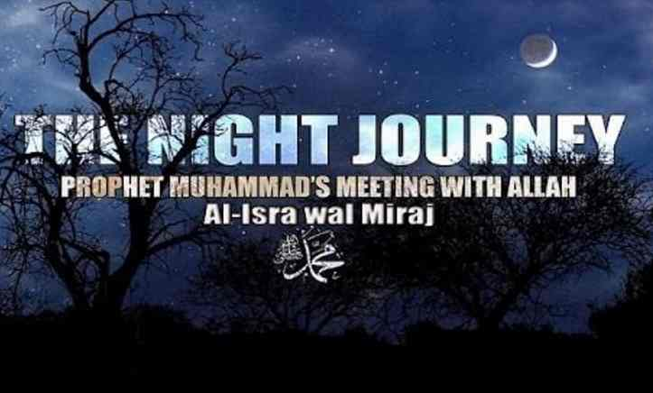 About the Prophet Muhammad's (SAW) Miracle of the Isra Night