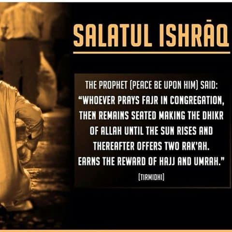 Importance and Benefits of Salat-ul-Ishraq
