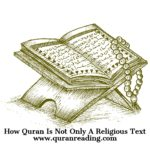 how quran is not only a religious text