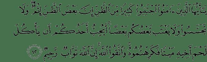 Quran and 5 ayahs