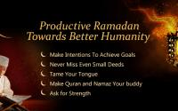 Productive tips for ramadan 2016